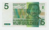 Netherlands 5 Gulden 1973 XF CRISP Pre-Euro Banknote P 95 - [2] 1815-… : Reino De Países Bajos