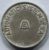 Jeton Token AUTOMATIC SYSTEMS S.A. - Tokens & Medals