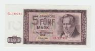 Germany Democratic Rep. 5 Mark 1964 UNC P 22 - [ 6] 1949-1990 : RDA - Rep. Dem. Tedesca