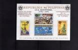 PHILIPPINES - PILIPINAS - FILIPPINE 1976 EVANGELIZZAZIONE FOGLIETTO CHRISTIANIZATION SOUVENIR SHEET  EVANGELIZACION MNH - Filippine