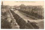 Reims - Vue Générale De La Place D'Erlon, Vers Saint-Jacques - Reims