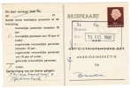 Arbeidslijstkaart  Oudenbosch - Material Postal