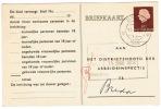 Arbeidslijstkaart  Breda - Postal Stationery