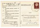 Arbeidslijstkaart  Middelburg - Postal Stationery