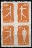 "China P.R. 1952  "" Radio Gymnastics ""  Mi. 164-66 II  Ungebr. / MNH / Neuf  (ap6) - Nuovi"
