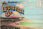 Souvenir De Louisville Ky Enveloppe Avec 20 Vues A L'interieur Voir Scan - Louisville