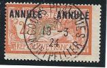 N� 145-CI 2 OBL MONTPELLIER 1924 AVEC CACHET DE COURS PRATIQUE  SUPERBE RARE