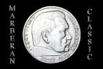 MONEDA DOS MARCOS DE PLATA ALEMANES DE 1937 - 2 Reichsmark