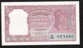 INDIA  P29b  2 RUPEES   ND 1962 #N/53  Signature 74 UNC. - India