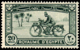 EGYPT 1926 EXPRESS MOTORCYCLE MH* - Egipto