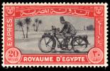 EGYPT 1929 EXPRESS MOTORCYCLE MH* - Egipto