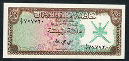 """OMAN P1 100  BAISA 1970  """"Sultanate Of Muscat And Oman""""  #A/2   UNC. - Oman"""