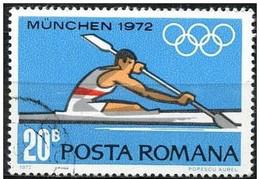 Rumania 1972 Scott 2322 Sello º Sports Juegos Olimpicos Munich Piraguismo Olimpics Munchen 20B Romania Stamps Timbre - 1948-.... Repúblicas