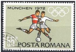 Rumania 1972 Scott 2323 Sello º Sports Juegos Olimpicos Munich Futbol Olimpics Munchen 55B Romania Stamps Timbre Roumani - 1948-.... Repúblicas