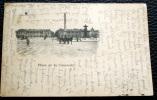 CARTE POSTALE PARIS, OBLITERATION SUR 10 CENT 1903 - Foto