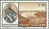 Italia 1964 Scott 901 Sello ** Inauguracion Del Puente Giovanni Da Verrazano En New York 30L Italy Stamps Timbre Italie - 6. 1946-.. República