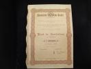 """Part Fondateur""""Chargeurs D'Extreme Orient""""Paris 1918 Avec Tous Les Coupons - Industry"""