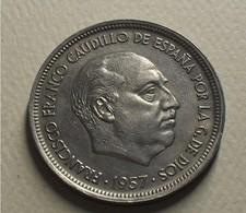 1957 - Espagne - Spain - 50 PESETAS, Franco, *59, KM 788 - [ 5] 1949-… : Royaume
