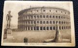ITALIA 1922- CARTOLINA  ARTE  AFFRANCATA CON CENT 20 V.E. III DEL 1917 E CENT 5 DEL 1906 - Storia Postale