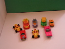 8 Different Cars Kinder Surprise Toy - Lots