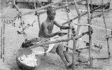 CPA HAUTE GUINEE TISSERAND 1906 - Guinée Française