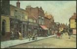 """High Street, Sevenoaks"",  Featuring  Salmon's Shop,  From A Photo By  'E Corke',  Posted 1904  (""SEVENOAKS"" Cds). - Ilustradores & Fotógrafos"