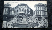 ITALIA 1921- CARTOLINA POSTALE ILLUSTRATA AFFRANCATA   DA 15 CENT   V.E. III DEL 1917 - Storia Postale