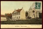 Cpa Du  95   Bethemont  Mairie Et église   CRO5 - France