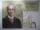 CUBA  1993   80th  DEATH  ANNIVERSARY  OF  RUDOLF  DIESEL   MINIATURE  SHEET - Unclassified