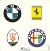 Auto-collant Zelfklever Sticker Editions Atlas / BMW Honda Norton Triumph Ferrari Maserati Alfa Romeo / Auto Car Moto - Vignettes Autocollantes