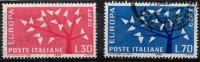 ITALIA REP. 1962 - EUROPA CEPT - 6. 1946-.. Repubblica