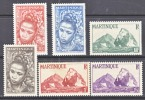 Martinique 217-22   * - Martinique (1886-1947)
