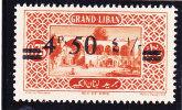 Lebanon, Errror 1926, 4 P, 50 On 0,75, Missing  Letter Of Money In Arabac-never Hinged Superb-SKRILL PAY ONLY - Lebanon