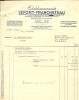 44   NANTES    ETABLISSEMENT  LEFORT  FRANCHETEAU    CHAUFFAGE  CENTRAL - France