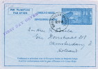 AEROGRAMME No 1 BRUXELLES 18-2-48 Vers AMSTERDAM NL - First Day Cover  -- B9/036 - Stamped Stationery
