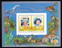 British Virgin Islands MNH Scott #519 Souvenir Sheet Of 2 $2.50 Queen Mother´s 85th Birthday - Iles Vièrges Britanniques