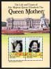 British Virgin Islands MNH Scott #517 Souvenir Sheet Of 2 $1 Queen Mother´s 85th Birthday - Iles Vièrges Britanniques