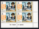 British Virgin Islands MNH Scott #278 10c Sir Winston Churchill's Birth Centenary Lower Right Plate Block - Iles Vièrges Britanniques