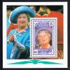 British Virgin Islands MNH Scott #677 Souvenir Sheet $2 Queen Mother's 90th Birthday - Iles Vièrges Britanniques