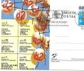 CARTOLINA  POSTALE   -1982    CAMPIONATI  DEL  MONDO--     NUMERATA   ---  RARA - Football
