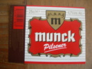 ETIQUETTE BIERE MUNCK PILSNER - Bier