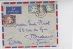 ZANZIBAR - 1958 - ENVELOPPE Par AVION Pour BORDEAUX - Zanzibar (...-1963)
