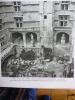 Provence , Arles , Cour De L'hotel De Laval Castellane , Héliogravure 1951 - Historische Dokumente