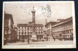 ITALIA 1921- CARTOLINA POSTALE ILLUSTRATA AFFRANCATA   DA 15 CENT   V.E. III DEL 1917 - 1900-44 Vittorio Emanuele III
