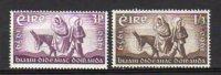 IRLANDE       Neuf **      Y. Et T.   N° 144 / 145     Cote:  3,00  Euros - 1949-... République D'Irlande