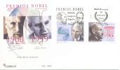 """Espagne 2003 FDC """" Prix Nobel Espagnoles, Severo Ochoa Et Ramon Y Cajal """" - Prix Nobel"""