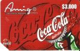 TARJETA DE COLOMBIA DE COCA-COLA  (COKE) - Publicidad