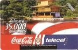 TARJETA DE PARAGUAY DE COCA-COLA  (COKE) TELECEL - Publicidad