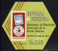 Venezuela MNH Scott #976a Souvenir Sheet Imperf 70c Venezuela #13 And EXFILCA '70 - Venezuela
