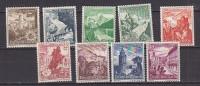 PGL L0071 - DEUTSCES REICH Yv N°616/24 ** - Deutschland